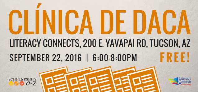Clínica de DACA / DACA Clinic Coming Soon!